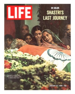 Shastri's body brought home