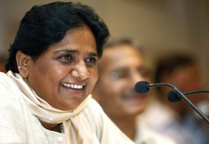 In 1990s, Mayawati sparked off a major controversy by claiming that Mahatma Gandhi had an anti-Dalit agenda
