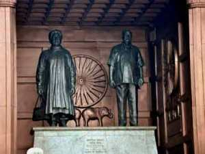 Mayawati and Kanshi Ram's huge statues at the BSP headquarters tell the story of how an ideological movement was turned into a personality cult