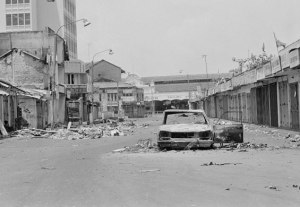 What remained of Tamil areas in Colombo after Black July