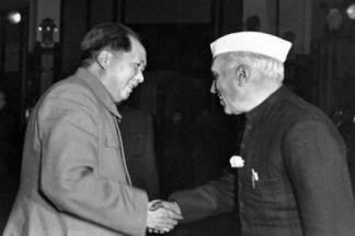 """""""China has many people. They cannot be bombed out of existence. If someone else can drop an atomic bomb, I can too. The death of ten or twenty million people is nothing to be afraid of."""" Mao tells a shocked Nehru."""